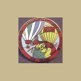 1989 ALBUQUERQUE HOT AIR BALLOON PIN THE BIG ONE