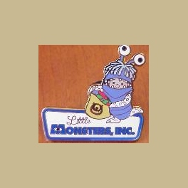 2006 DISNEYLAND CAST CHARITY LITTLE MONSTERS PIN LITTLE BOO CALIFORNIA ADVENTURE LTD ED