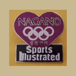 RARE NAGANO JAPAN 1998 OLYMPIC SPORTS ILLUSTRATED VALENTINE DAY ERROR COLOR