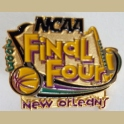 NCAA 2003 FINAL FOUR NEW ORLEANS MENS BASKETBALL PRESS MEDIA PIN RARE