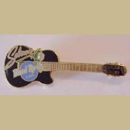 RARE HARD ROCK CAFE SELENA GUITAR PIN