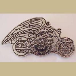 HARD ROCK CAFE NEW YORK BIKE NITE 1996 MOTORCYCLE PIN