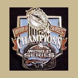 MLB BASEBALL WORLD SERIES 2003 PIN MARLINS TROPHY PIN