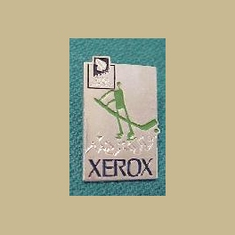 1994 LILLEHAMMER OLYMPIC PIN XEROX PICTOGRAM ICE HOCKEY