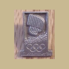 1994 LILLEHAMMER OLYMPIC PINS PEWTER CANADA NOC PIN